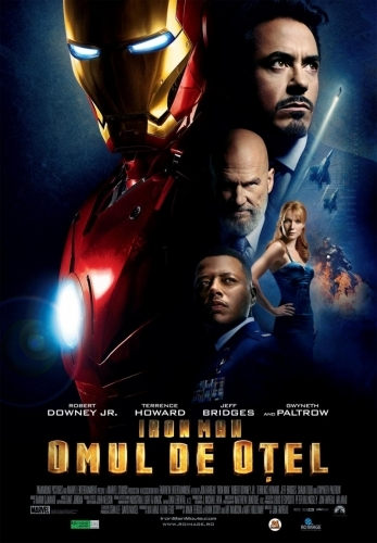 ������ � ������� �������� ������� / Iron Man (2008) HDRip
