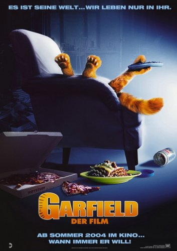 Постер к сериалу Гарфилд / Garfield (2004) HDRip