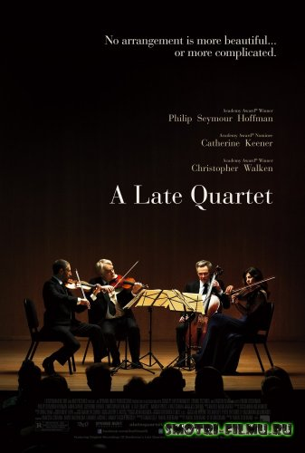 Поздний квартет / A Late Quartet (2012) DVDRip