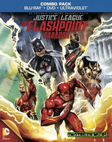 ������ � ������� ���� ��������������: �������� ��������� ��������� / Justice League: The Flashpoint Paradox (2013) HDRip