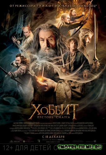 Постер к сериалу Хоббит: Пустошь Смауга / The Hobbit: The Desolation of Smaug (2013) DVDScr